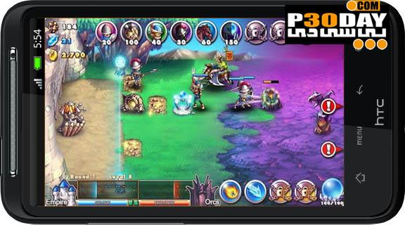 دانلود بسیار زیبا و جدید Empire VS Orcs v1.0.0 آندروید