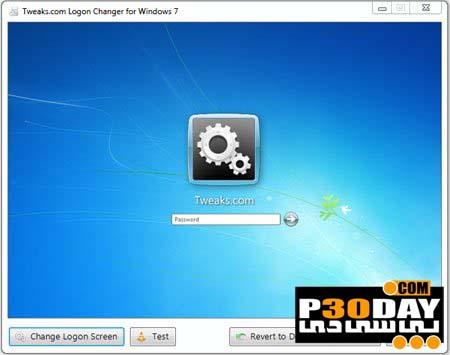 دانلود نرم افزار تغییر Logon ویندوز 7 با Windows 7 Logon Changer