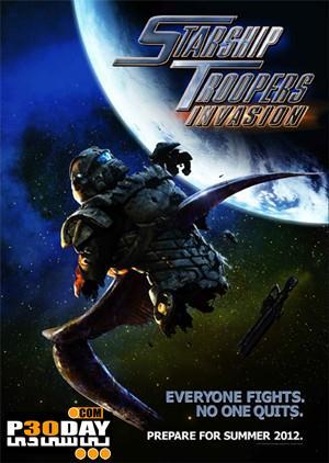 دانلود انیمیشن زیبای Starship Troopers Invasion 2012