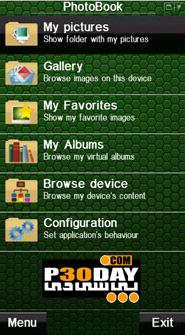 نرم افزار نمایش و مدیریت عکس ها PhotoBook v.2.01 سیمبیان 3