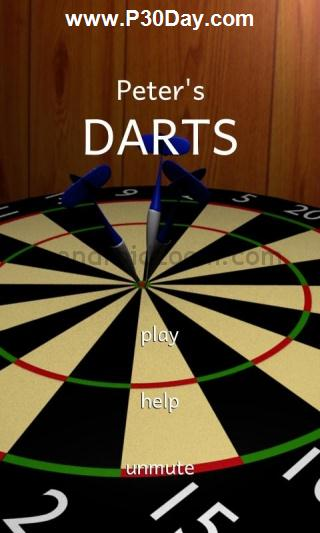 بازی دارت برای گوشی موبایل آندروید Peter's Darts 1.0.5