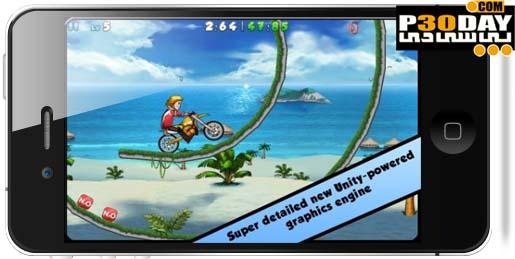 دانلود بازی جالب موتور سواری Jacob's Bike 1.1 آیفون