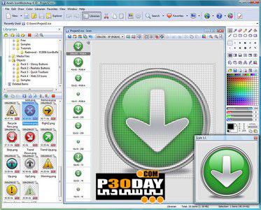 نرم افزار ساخت و ویرایش آیکن Axialis IconWorkshop 6.62 Professional