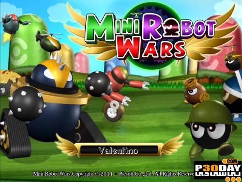دانلود بازی Mini Robot Wars v1.0.0.5
