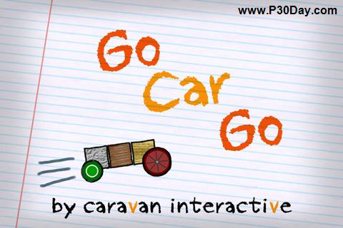 دانلود بازی ماشینی جالب آیفون Go Car Go 1.1