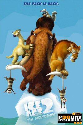 دانلود انیمیشن زیبای عصر یخبندان Ice Age 2: The Meltdown + زیرنویس فارسی