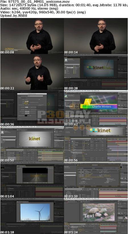 فیلم آموزش کامل نرم افزار Adobe After Effects CS6 شرکت Lynda
