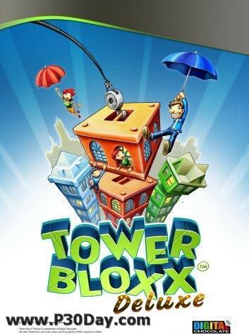 برج بسازید و صاحب شهر شوید با بازی Tower Bloxx Deluxe