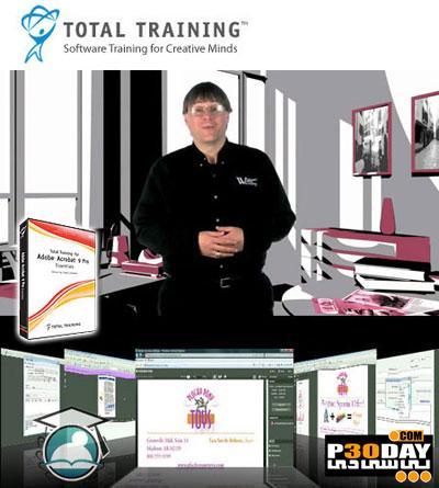 دانلود ویدیو آموزشی Total Training - Adobe Acrobat X Pro Essentials 2010