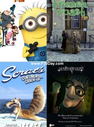 دانلود انیمیشن های کوتاه برتر سال 2010 با لینک مستقیم