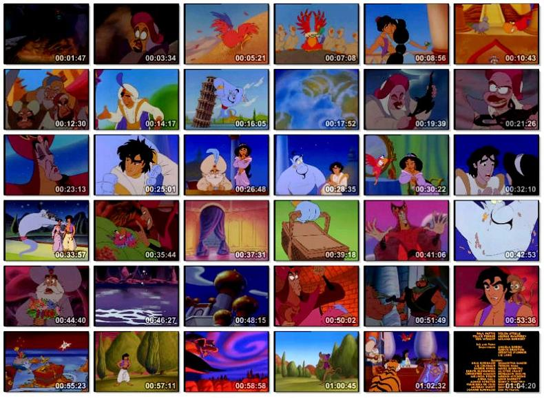 دانلود انیمیشن Aladdin II The Return Of Jafar 1994