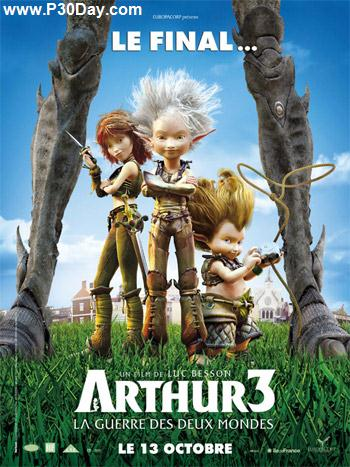 دانلود انیمیشن جدید Arthur 3: The War of the Two Worlds