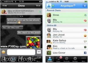 نرم افزار چت eBuddy Pro Messenger v4.2.1 آیفون