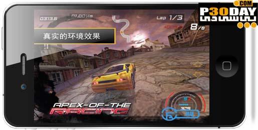 بازی فوق العاده جذاب و هیجانی Apex Of The Racing v1.04.120306 آیفون