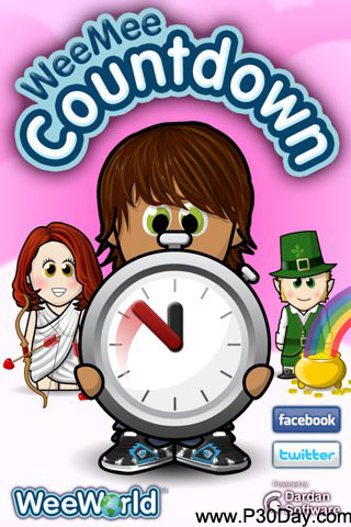 نرم افزار ساخت شمارش معکوس WeeMee Countdown v1.2 آیفون