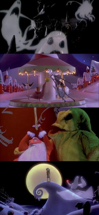 دانلود انیمیشن پرطرفدار و زیبای The Nightmare Before Christmas 1993