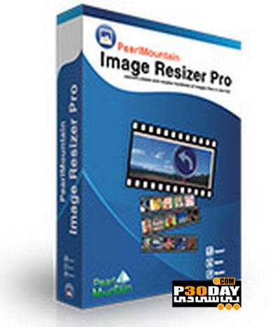 نرم افزار تغییر سایز تصاویر Pearl Mountain Image Resizer Pro v1.4.0.3009