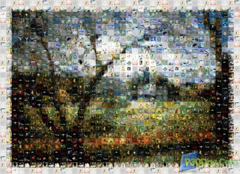 ساخت یک تصویر با چندین عکس کوچکتر Mosaic Creator Pro 3.1.348