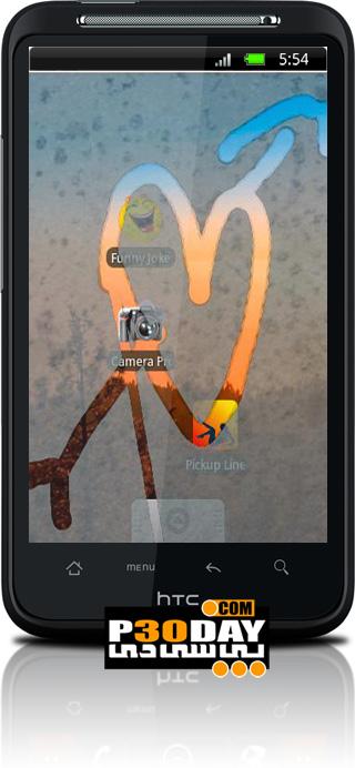 ایجاد بخار بر روی تصویر موبایل آندروید با Steamy Window v2.3