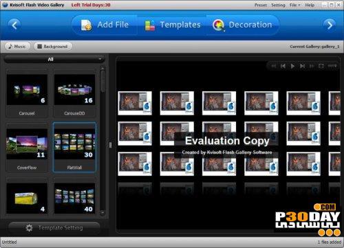 برنامه ساخت ویدیو گالری Kvisoft Flash Video Gallery 1.5.3.0