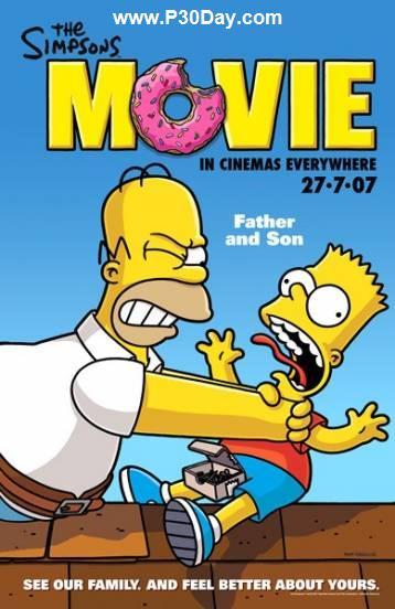 دانلود انیمیشن The Simpsons Movie 2007 + زیرنویس فارسی