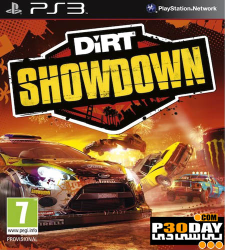دانلود بازی DiRT Showdown 2012 برای PS3 با لینک مستقیم