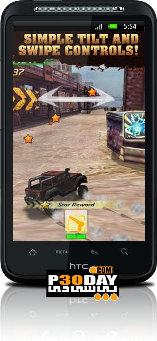 دانلود بازی هیجانی و بسیار زیبای Mutant Roadkill آندروید