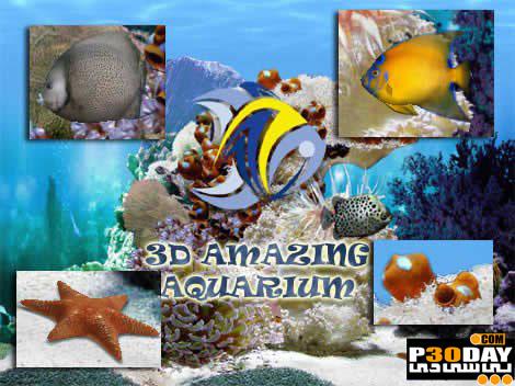 اسکرین فوق العاده زیبا و رویایی Amazing 3D Aquarium 2.52 + اضافات