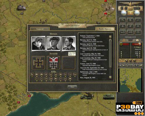 دانلود بازی Panzer Corps 2011