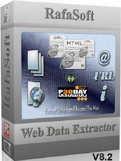 برنامه دانلود کامل صفحات وب RafaSoft Web Data Extractor 8.2