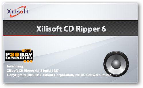 نرم افزار ریپ و استخراج فایل های صوتی Xilisoft CD Ripper v6.3.0.0805