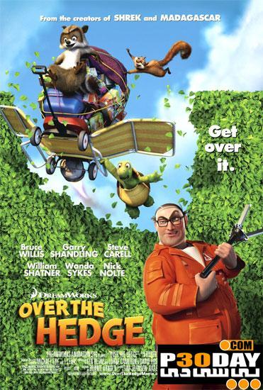 دانلود انیمیشن Over the Hedge 2006 + زیرنویس فارسی