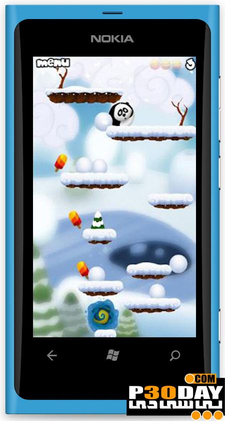 دانلود بازی جالب و بسیار زیبای Roll In The Hole ویندوز فون 7