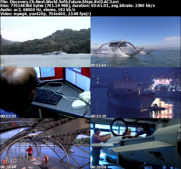 مستند جهان آینده قسمت پنجم Discovery Channel Next World Future Ships