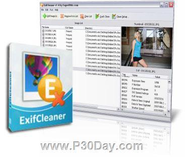 دانلود ExifCleaner v3.1.0 - نرم افزار حذف تگ عکس های دیجیتال