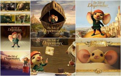 دانلود انیمیشن The Tale of Despereaux 2008