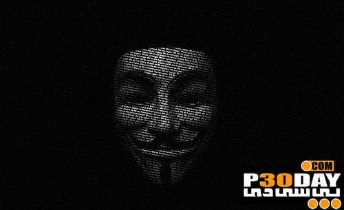 مجموعه 10 عکس پس زمینه بسیار زیبای Anonymous Wallpaper