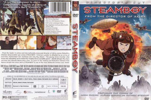 دانلود انیمیشن زیبای Steamboy 2004 720p + زیرنویس فارسی