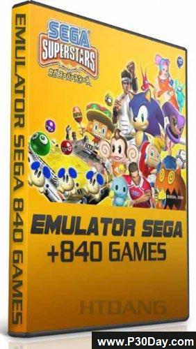 دانلود مجموعه 840 بازی کنسول قدیمی سگا برای کامپیوتر