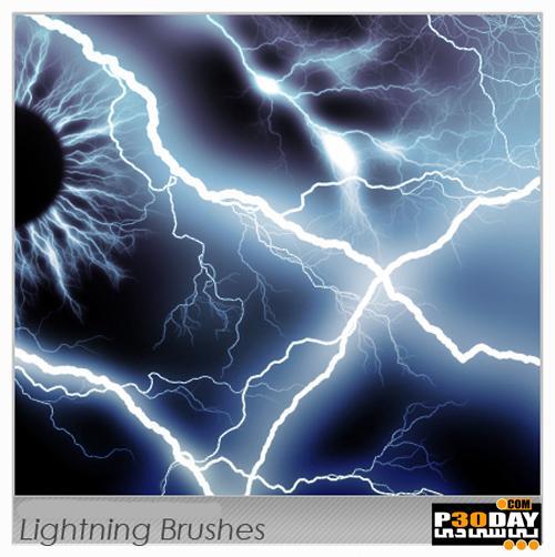 دانلود براش های رعد و برق مخصوص فتوشاپ Lightning Brushes for Photoshop
