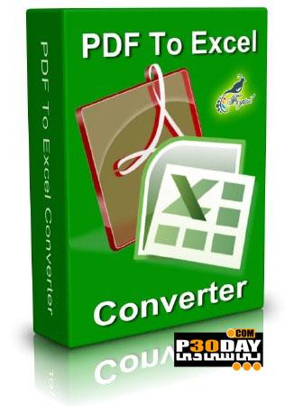 نرم افزار تبدیل PDF به فایل های Excel با PDF To Exce Converter v3.0