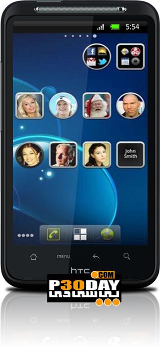 برنامه جالب کانتکت های آندروید Animated Widget Contact Pro v1.4.2