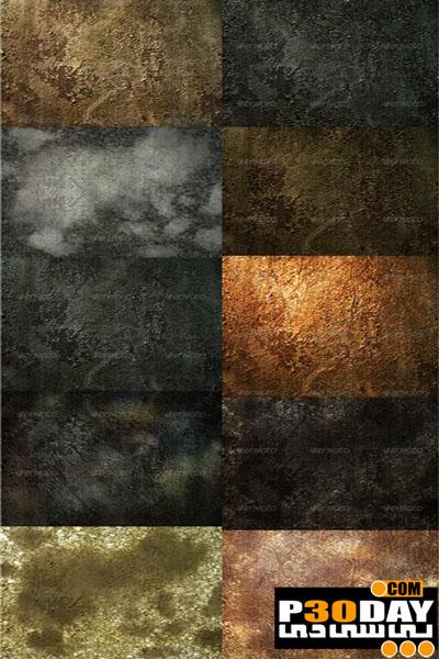 دانلود مجموعه 10 تصویر تسکچر فوق العاده زیبا Grungy Wall Textures