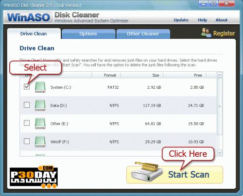 دانلود نرم افزار تمیز کردن هارد دیسک WinASO Disk Cleaner 2.5.3