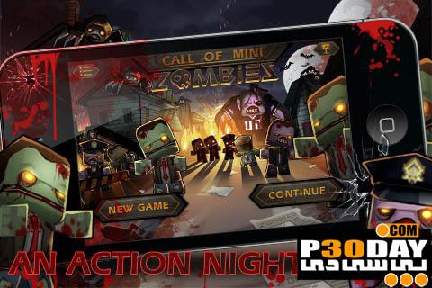 دانلود بازی هیجانی و بسیار زیبای Call of Mini Zombies v1.0 آندروید