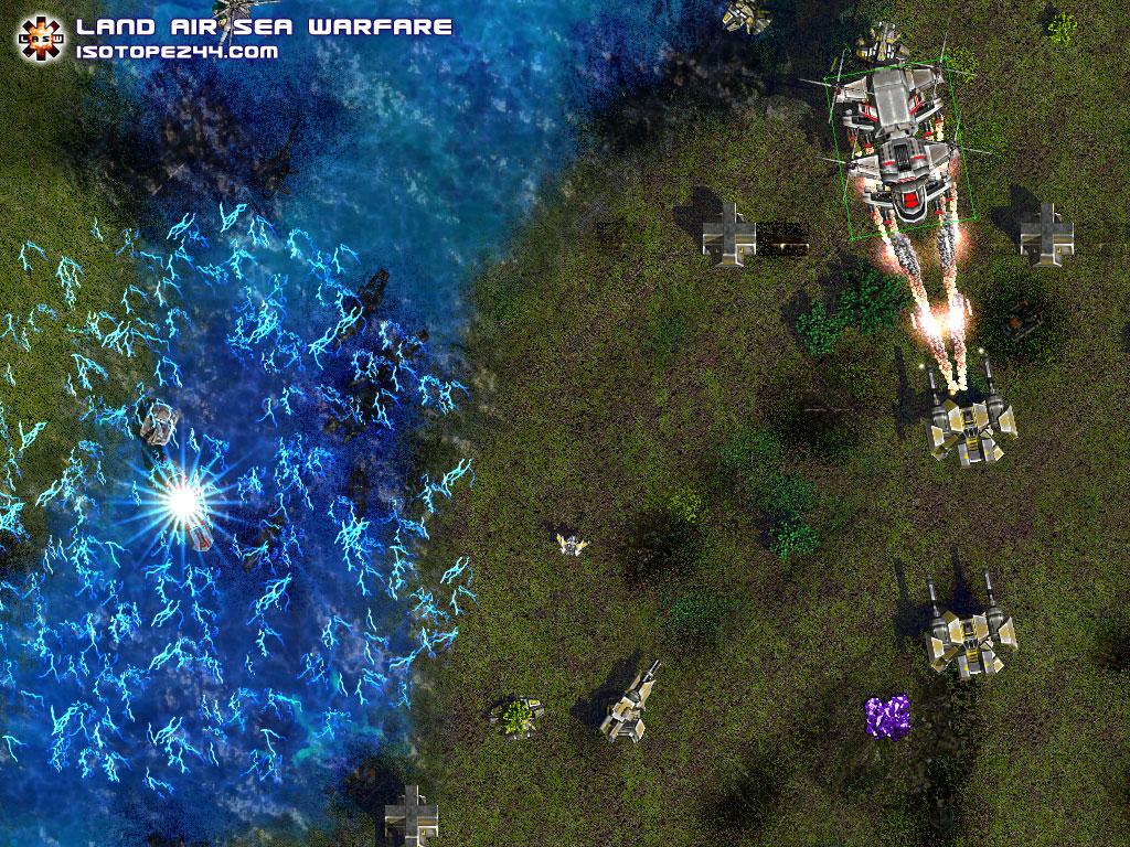 بازی استراتژیک جنگی برای پاکت پی سی ویندوز Land Air Sea Warfare