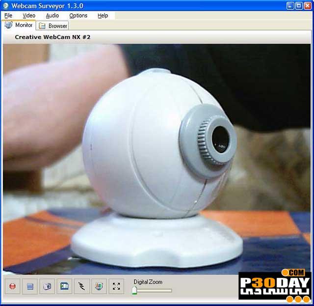 دانلود Webcam Surveyor 3.7.1 Build 1082 - تبدیل وبکم به دوربین مدار بسته