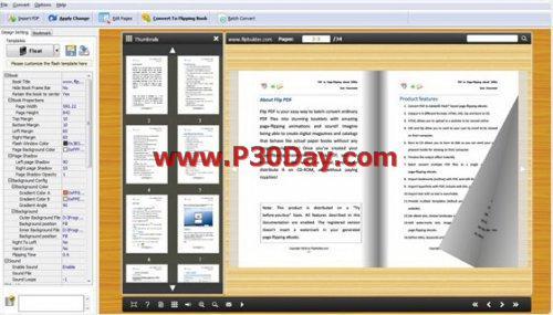 برنامه ساخت کتاب و مجله فلش Word to FlippingBook 2.0 Portable