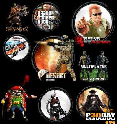 دانلود آیکونهای بسیار زیبا از بازی های مختلف Game Icons Pack 2