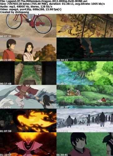 دانلود انیمیشن Legend of the Millennium Dragon 2011